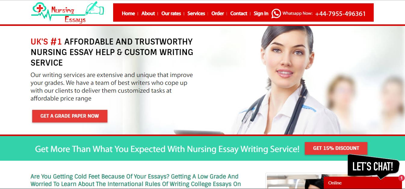Nursingessays.co.uk Reviews