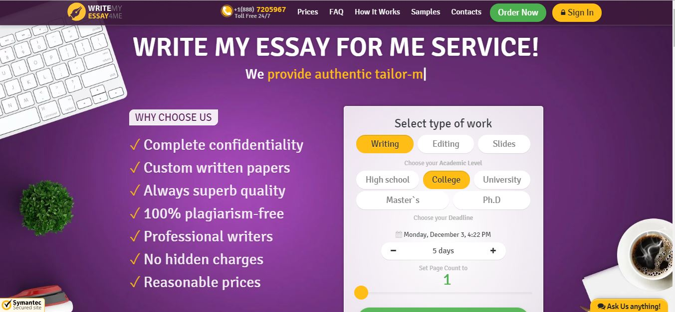 Writemyessay4me.org Reviews